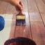 Maling af gulv med gulvmaling
