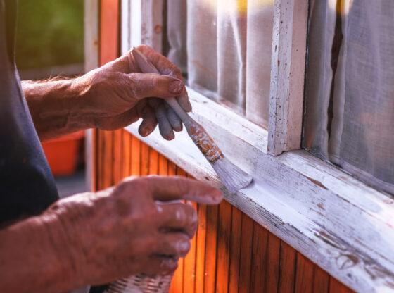 maling af træhus