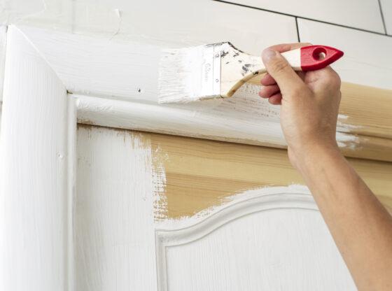 maling af døre