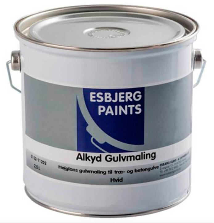 Esbjerg Paints Alkyd Gulvmaling 2,5 Liter